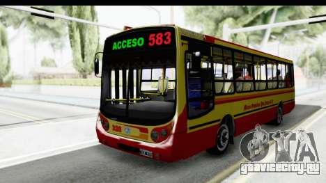 Metalpar Tronador 2 Puertas Linea 324 для GTA San Andreas