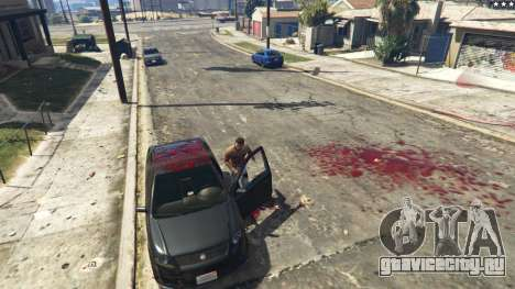 Extreme Blood 0.1 для GTA 5 четвертый скриншот