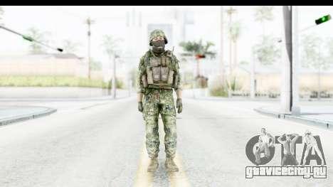 Croatian Soldier для GTA San Andreas второй скриншот
