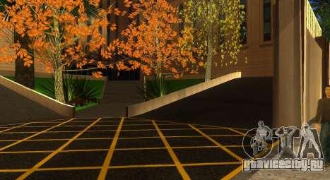 Новые текстуры скейт-парка и госпиталя для GTA San Andreas восьмой скриншот