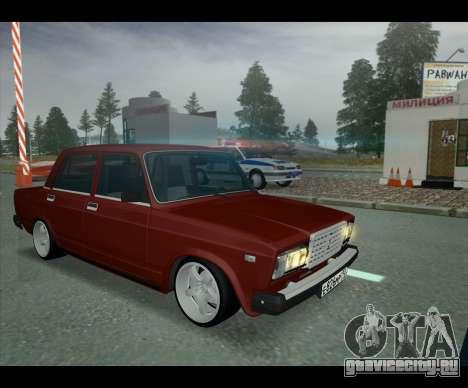 Lada 2107 Jiguar для GTA San Andreas