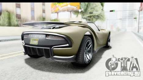 GTA 5 Pfister 811 IVF для GTA San Andreas вид слева