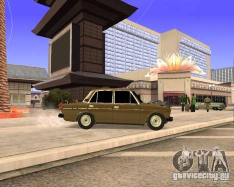 VAZ 2106 Armenian для GTA San Andreas вид сверху