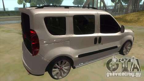 Fiat Doblo 2015 Series для GTA San Andreas вид справа