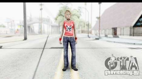 Silent Hill 3 - Heather Sporty Red Duff Beer для GTA San Andreas второй скриншот