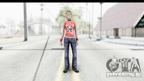 Silent Hill 3 - Heather Sporty Red Duff Beer для GTA San Andreas второй скриншот