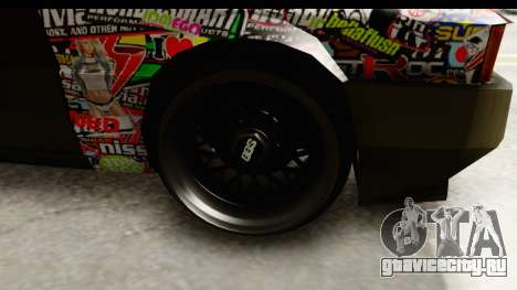 Blistac Tio Sam для GTA San Andreas вид сзади