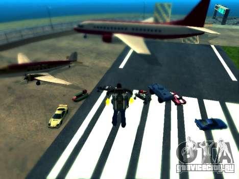 Cars spawn для GTA San Andreas