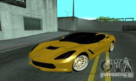 Chevrolet Corvette для GTA San Andreas