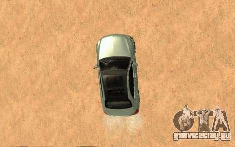 Mercedes-Benz C250 Armenian для GTA San Andreas вид сзади