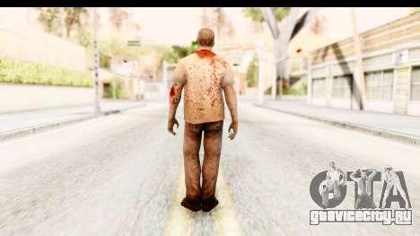 Left 4 Dead 2 - Zombie T-Shirt для GTA San Andreas третий скриншот