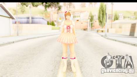 DoA 5 - Ultimate Kasumi Pop Idol Team D для GTA San Andreas второй скриншот
