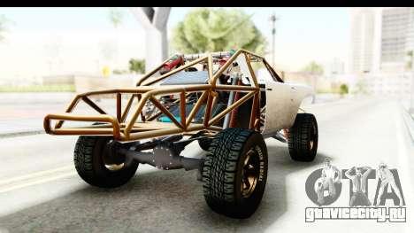 GTA 5 Trophy Truck IVF для GTA San Andreas вид сзади слева