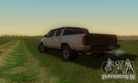Nissan Frontier для GTA San Andreas вид слева