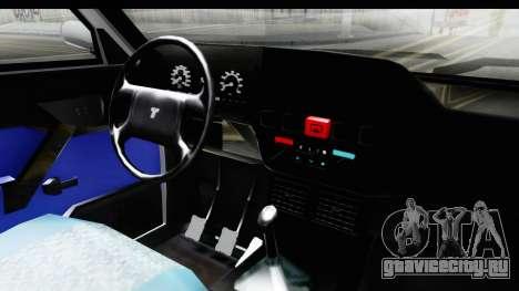Tofas Dogan для GTA San Andreas вид изнутри