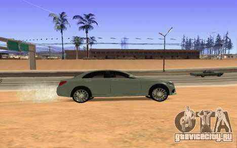 Mercedes-Benz C250 Armenian для GTA San Andreas вид справа