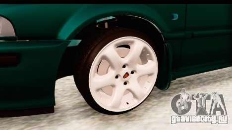 Rover 220 для GTA San Andreas вид сзади