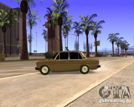 VAZ 2106 Armenian для GTA San Andreas салон