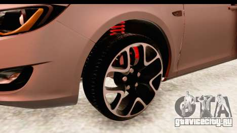 Opel Astra J Tourer для GTA San Andreas вид сзади