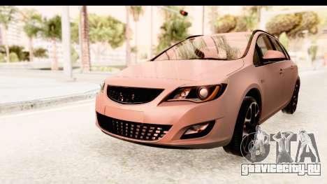 Opel Astra J Tourer для GTA San Andreas вид справа