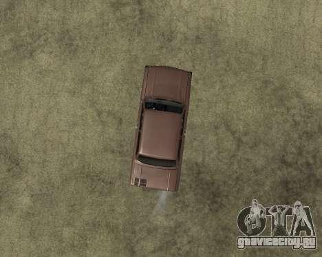 ЗАЗ 968М Армения для GTA San Andreas вид сзади