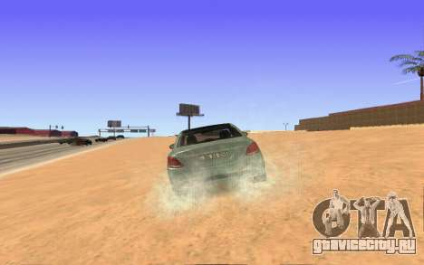 Mercedes-Benz C250 Armenian для GTA San Andreas вид сзади слева