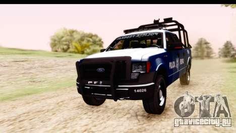 Ford F-150 Policia Federal для GTA San Andreas