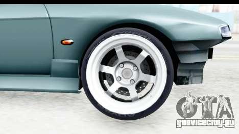 Nissan Silvia S14 Low and Slow для GTA San Andreas вид сзади