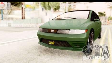 GTA 5 (4) Dinka Perennial для GTA San Andreas вид сзади слева