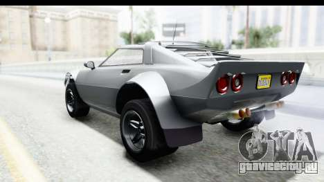 GTA 5 Lampadati Tropos Rallye для GTA San Andreas вид справа
