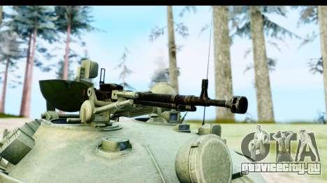 T-62 Wood Camo v1 для GTA San Andreas вид сзади
