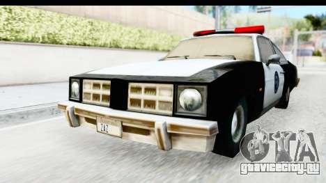 Pontiac Ventura LSPD from Silent Hill 2 для GTA San Andreas вид справа
