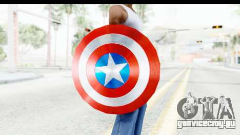 Capitan America Shield AoU для GTA San Andreas третий скриншот