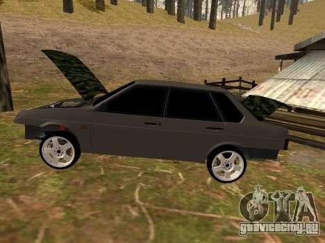 ВАЗ 21099 Классика для GTA San Andreas вид сзади слева