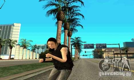 Женщина-тренер SWAT для GTA San Andreas седьмой скриншот