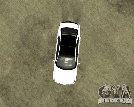 Mercedes-Benz E250 Armenian для GTA San Andreas вид сбоку