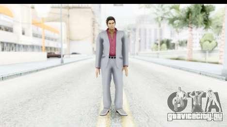 Yakuza 5 Kazuma Kiryu для GTA San Andreas второй скриншот