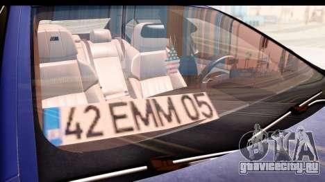 BMW M5 F10 для GTA San Andreas вид сверху
