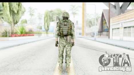 Croatian Soldier для GTA San Andreas третий скриншот