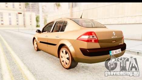 Renault Megane 2 Sedan 2003 для GTA San Andreas вид слева