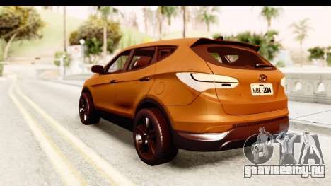 Hyundai Santa Fé 2015 для GTA San Andreas вид слева