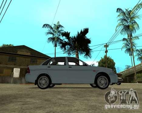Лада Приора Армения для GTA San Andreas вид справа