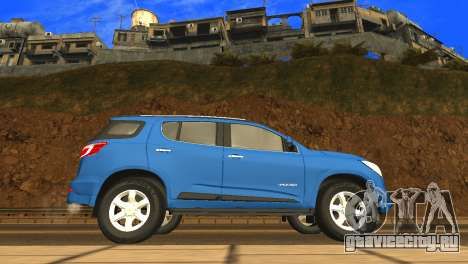 Chevrolet TrailBlazer 2015 LTZ для GTA San Andreas вид сзади слева
