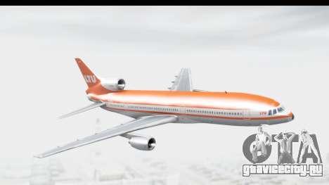 Lockheed L-1011-100 TriStar LTU для GTA San Andreas вид сзади слева