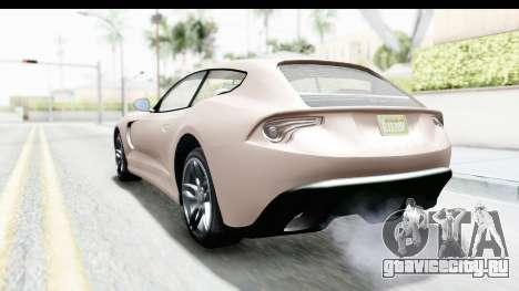GTA 5 Grotti Bestia GTS with MipMap для GTA San Andreas вид слева
