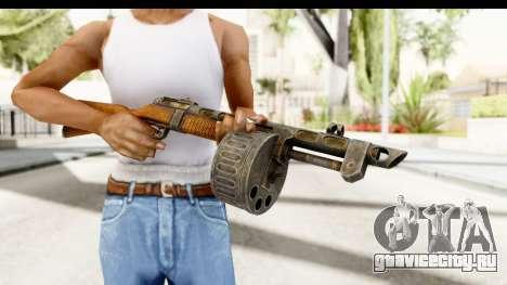 The Terrible Shotgun для GTA San Andreas третий скриншот