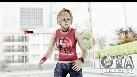 Silent Hill 3 - Heather Sporty Red Silent Hill для GTA San Andreas