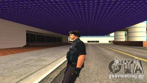 Оригинальный скин SWAT без маски для GTA San Andreas четвёртый скриншот