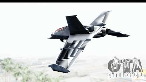 Batman Arkham Origins - Batwing для GTA San Andreas вид слева