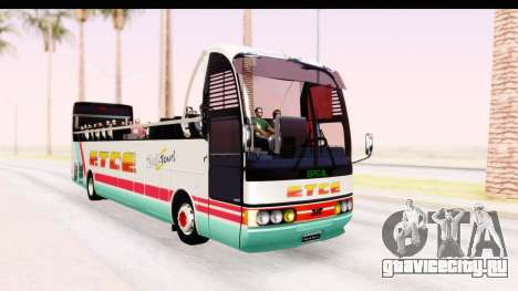 Bus Tours Dic Megadic 4x2 ETCE для GTA San Andreas вид справа